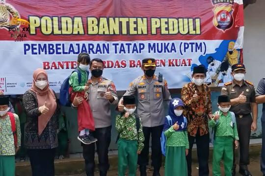 Kapolda Banten pastikan tak ada klaster sekolah di Pandeglang