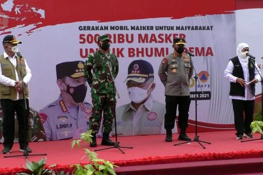 Pemerintah luncurkan gerakan mobil masker di Malang