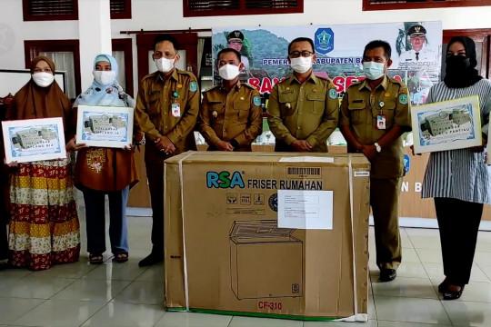 Pokhlasar Kabupaten Bangka terima bantuan mesin pembeku