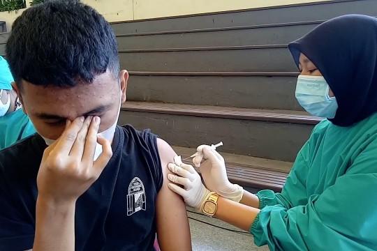 Vaksinasi di Kota Tangerang tembus 60 persen