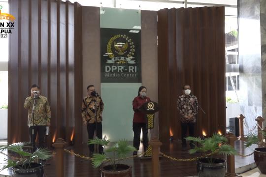 Surpres RUU Ibu Kota baru diserahkan ke DPR