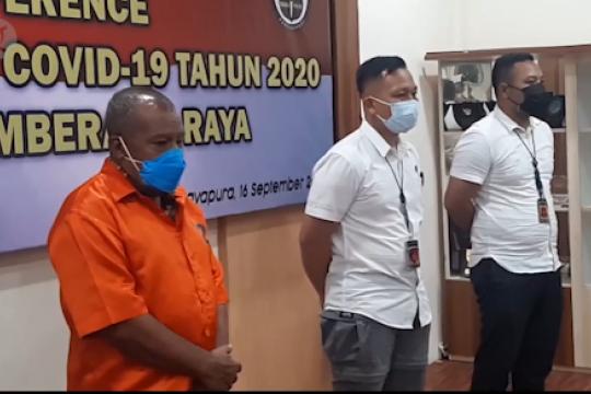 Tersangka korupsi dana COVID-19, mantan Bupati Mamberamo Raya ditahan