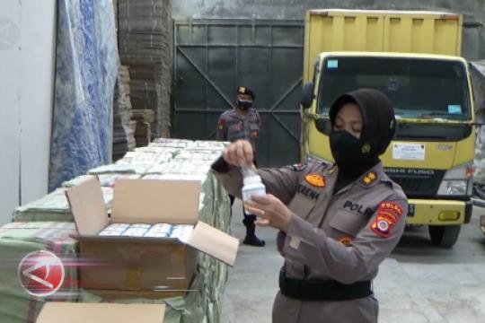 Bareskrim Polri ungkap 2 pabrik obat keras ilegal terbesar