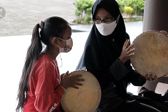 Melestarikan Tahar, alat musik tradisional Kalbar