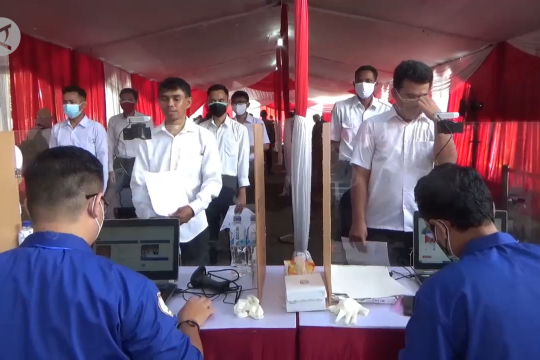 Sesi pertama tes CPNS Jember, 10 peserta dinyatakan gugur