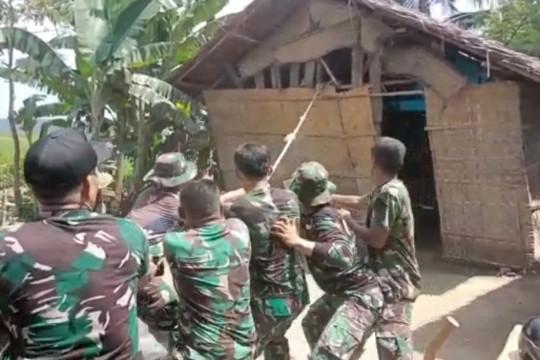 TMMD ke-112, TNI bangun RTLH