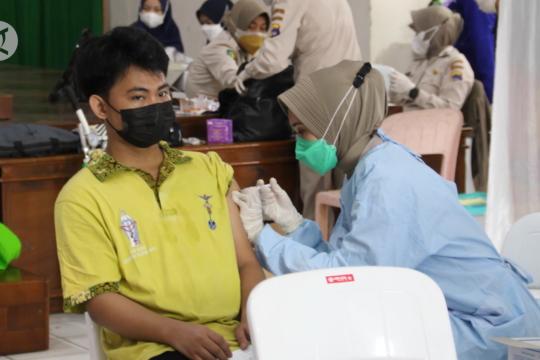 Warga Banjarmasin antusias ikuti program Vaksinasi Merdeka