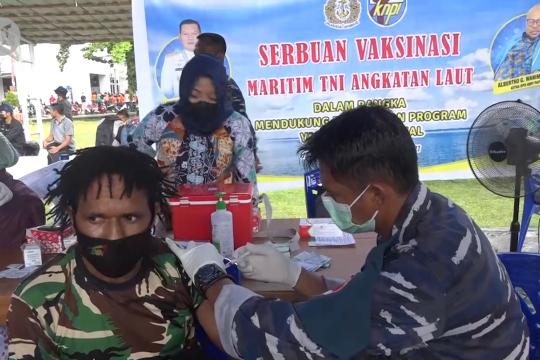 5000 relawan PON Papua jalani vaksinasi COVID-19