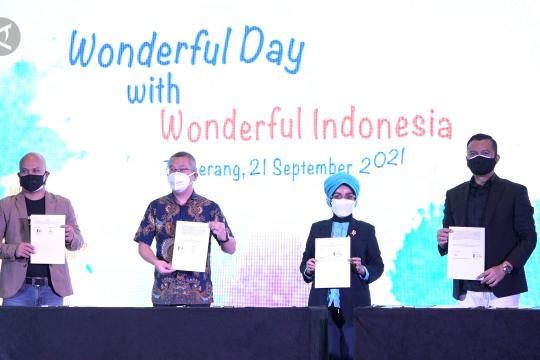 Kemenparekraf gandeng mitra perkuat Wonderful Indonesia