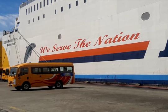316 armada bus untuk PON XX tiba di Jayapura