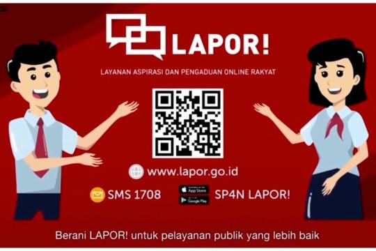 5 kementerian dan lembaga tandatangani nota kesepahaman SP4N-LAPOR