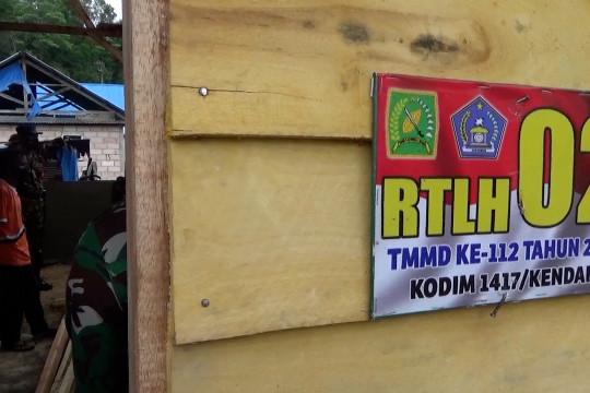 Bhakti TNI wujudkan mimpi keluarga kurang mampu miliki rumah layak huni