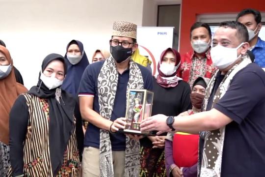 Menparekraf apresiasi PNM bantu permodalan pelaku ekraf di Banyuwangi