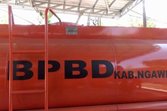Pemkab Ngawi siapkan truk tangki untuk distribusi air bersih