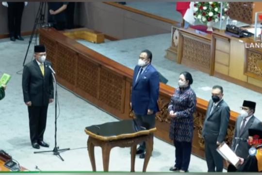 Lodewijk F Paulus resmi gantikan posisi Azis Syamsuddin