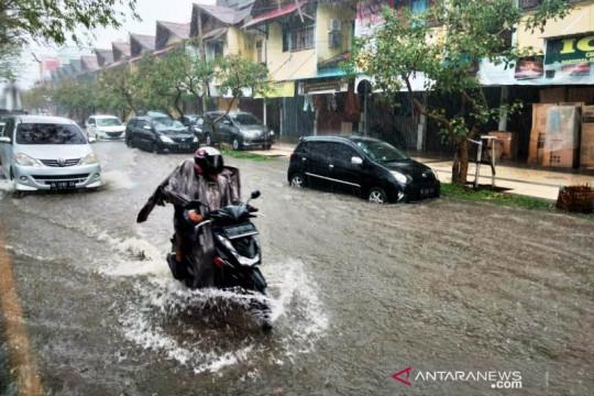 Ratusan rumah warga di Meulaboh Aceh Barat terendam banjir