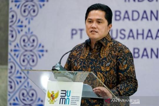 Erick Thohir berharap Perpres merger Pelindo disahkan pada 1 Oktober