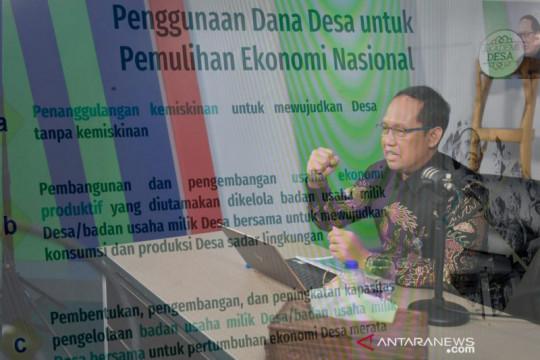Kemendes: Prioritas Dana Desa 2022 untuk pemulihan ekonomi nasional