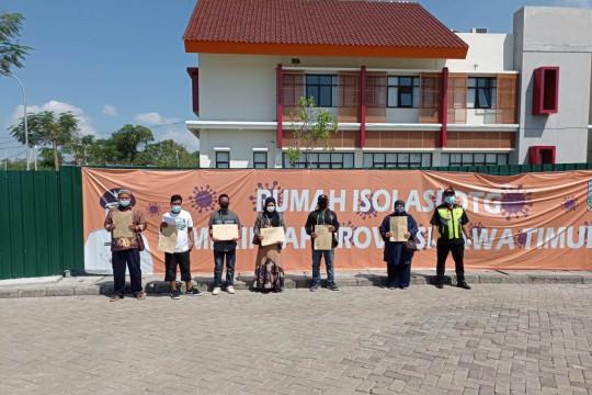Enam pasien COVID-19 terakhir di RS Darurat Bangkalan pulang