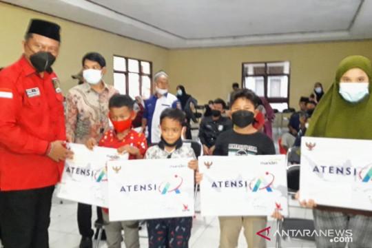 Kemensos salurkan bantuan Atensi anak yatim Rp961 juta di Lampung