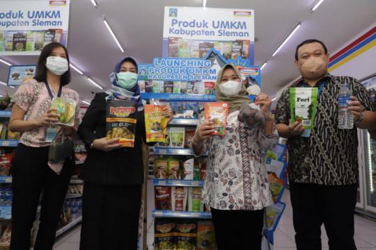 Produk UMKM Sleman resmi dipasarkan di toko berjejaring