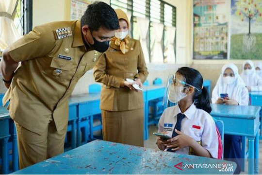 Pemkot Medan mematangkan pembelajaran tatap muka terbatas