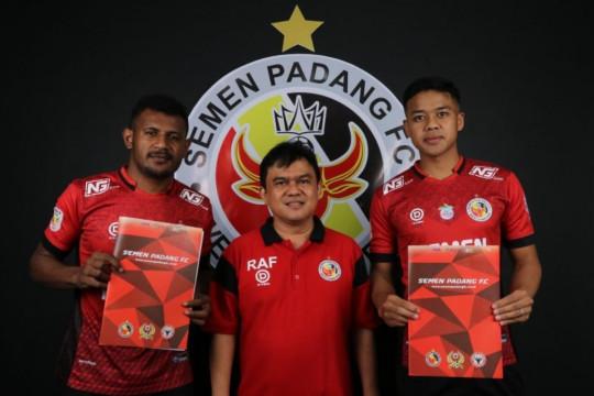 Semen Padang tambah dua bek baru hadapi Liga 2