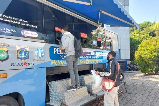 Polda Metro siapkan 14 titik samsat keliling di Jadetabek
