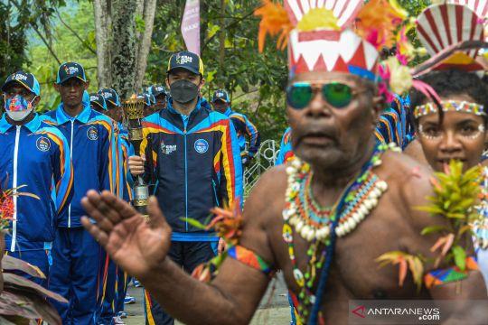 Api, kirab, dan ihwal makna obor PON Papua