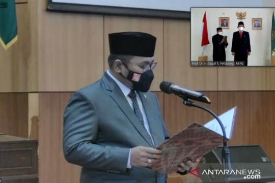 Menag lantik Prof Sagaf jabat Rektor UIN Datokarama Palu