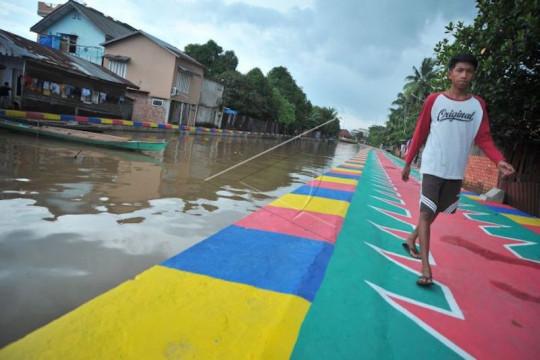 Pemkot Palembang target kembalikan fungsi 21 anak sungai