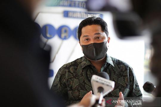 Erick Thohir: Presiden RI Joko Widodo sudah sahkan merger Pelindo