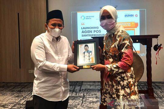 Pos Indonesia gandeng Santripreneur Indonesia perluas jaringan kurir