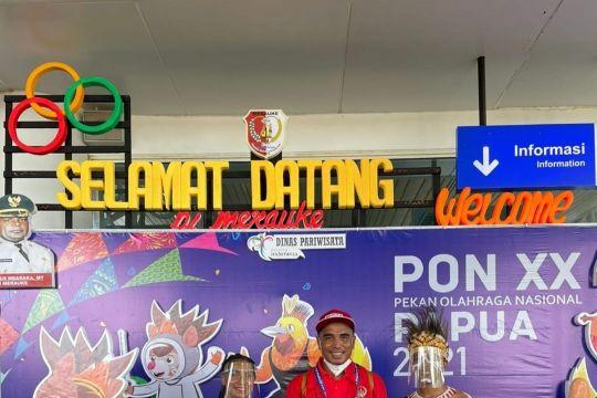 Atlet anggar Sulawesi Selatan terkesan oleh sambutan hangat Papua
