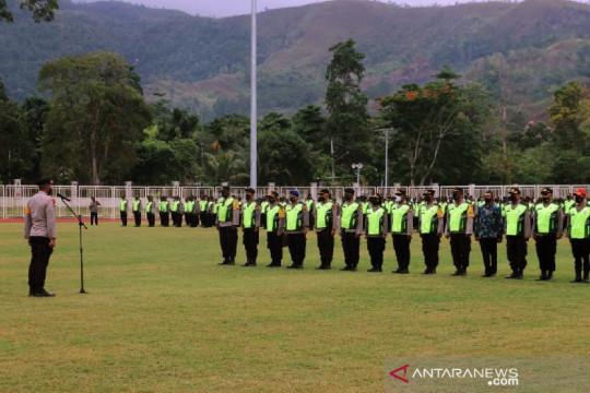 Ka Ops Deraku Cartenz pimpin apel pengamanan pembukaan PON Papua