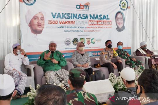 Bupati Bogor gandeng kalangan Habib percepat vaksinasi