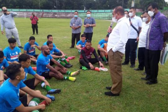 PSMS berkekuatan 26 pemain hadapi Liga 2 Indonesia