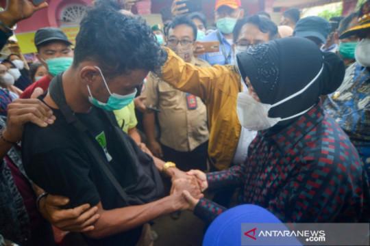 Mensos pekerjakan warga korban longsor Padang Pariaman di Kemensos