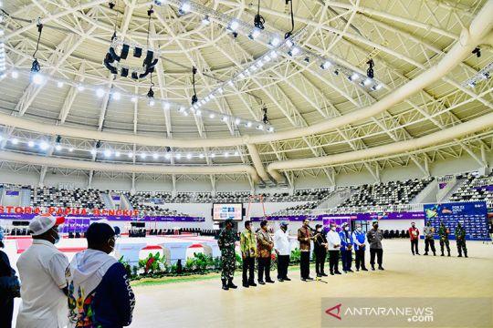 Arena senam PON Papua Istora Papua Bangkit panen pujian dari atlet
