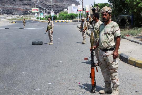 Bentrokan antara pasukan separatis tewaskan empat petempur di Yaman