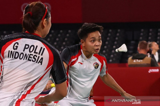 Kemenangan Greysia/Apriyani bawa Skuad Garuda imbangi Malaysia 2-2