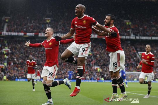 Liga Inggris: Manchester United vs Everton