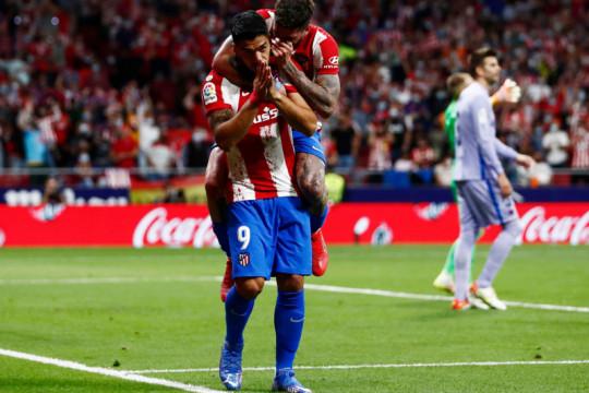 Atletico Madrid hajar Barcelona dua gol tanpa balas