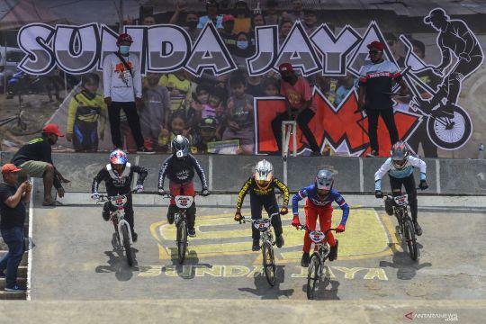 Atlet junior Indonesia menunjukkan progres di Piala Dunia BMX 2021