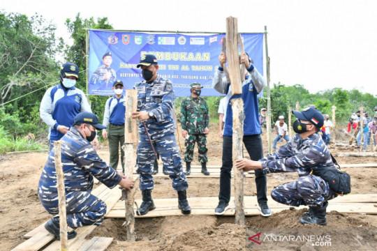 Desa Tabanio-Kalsel dijadikan TNI-AL Kampung Bahari Nusantara