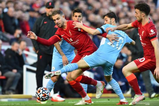 Liga Inggris: Liverpool vs Manchester City