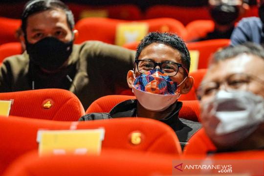 Menparekraf harapkan uji coba pembukaan bioskop gerakkan industri film