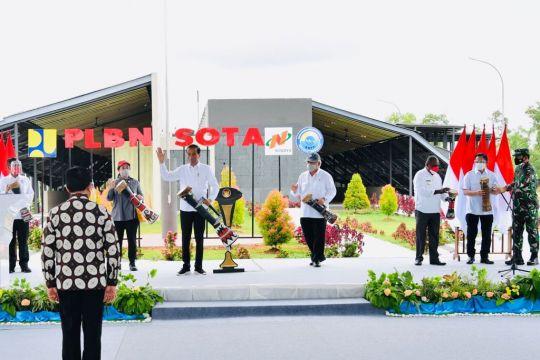Kemarin, Peresmian PLBN Sota hingga Presiden kunjungi Sorong