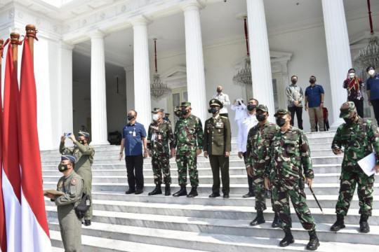 HUT TNI ke-76 akan gelar 112 alutsista di sekitar Istana Merdeka