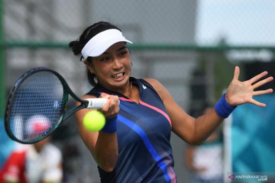 Tekuk DKI, tim tenis putri Jatim sandingkan medali emas beregu